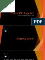 Empresa Júnior - Apresentação.