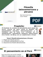 Filosofía Latinoamericana y Peruana Clase