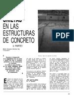 4 Juntas y Grietas en Las Estructuras de Concreto