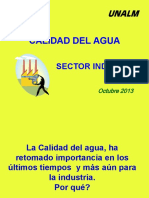 Calidad Del Agua Industria