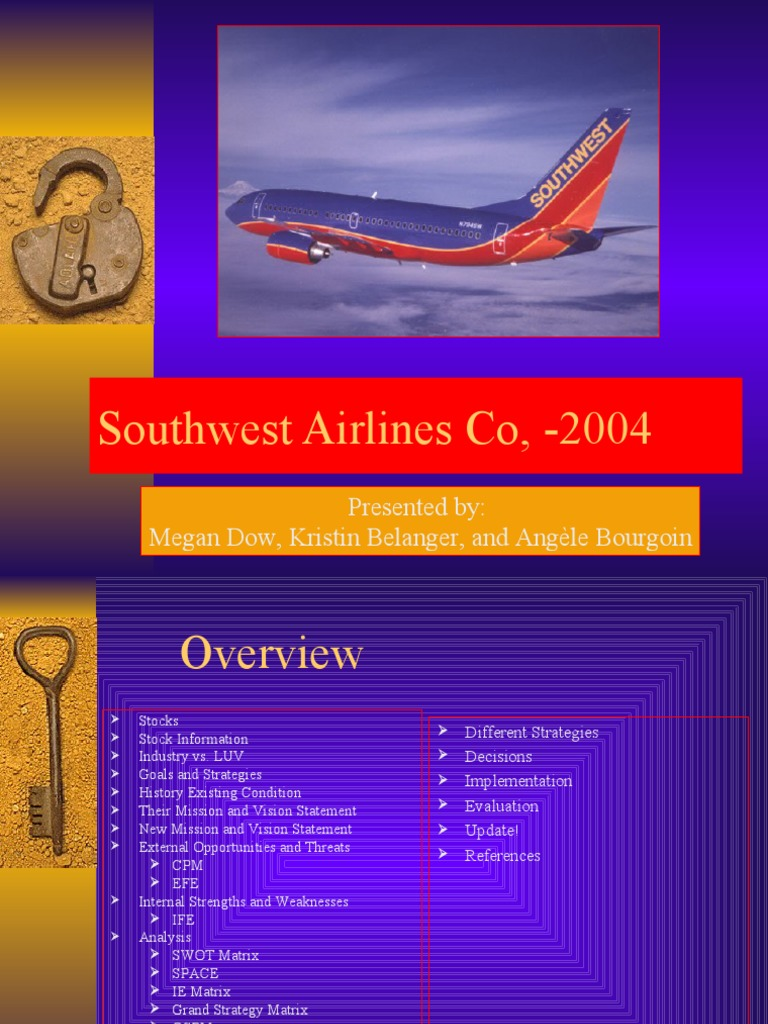southwest airlines vision