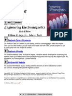 Engineering Electromagnetics (6th Edition, 2001) - Hayt & Buck + Solution Manual