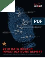 2010 Data Breach Report Verizon