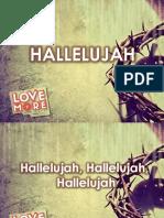 1 - Hallelujah