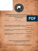 2014 - Fundamental Right to Free Primary Education in India - Comparative Const. and Admin. Law Quarterly%2c Vol 1%2c Issue 4