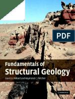 Fundamentals of Structural Geology [Pollard D.D., Fletcher R.C.]