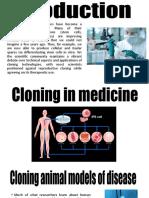 Cloning in Medicine