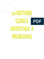 La Historia Clínica OP