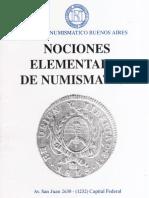 CNBA - Nociones Elementales de Numismatica