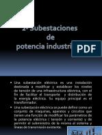 Subestacion de Potencia Industriales