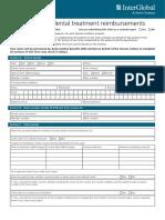 Singapore Dental Claim Form Interactive M003 60E 010115