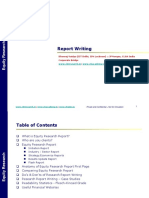 Corporate Bridge Report Writing PPT