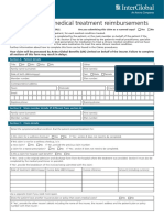 Singapore International Medical Claim Form Interactive M003 248E 010115
