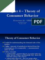 Ch04 -Theory of Consumer Behavior