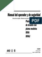 Operation 800A AJ Spanish(Alza Hombre)