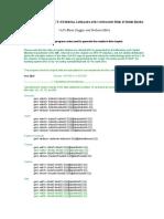 Chapter 20_Duggar & Mitra_Example EVT Eviews Program Codes