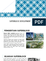 Arsitektur Kota (Superblock Development)
