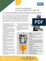 Skf Graisseur Automatique LAGE 125 LAGE 250