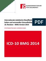 ICD-10 2014 Psychische und Verhaltensstörungen
