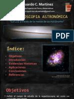 ESPECTROSCOPÍA ASTRONÓMICA`EMCC 2.0