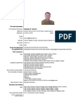 Sotirovic EUROPASS CV Short