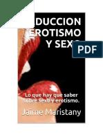 Maristany Jaime - Seduccion Erotismo Y Sexo