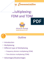 Multiplexing FDM and TDM
