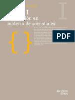 AA. VV. - Legislación en Materia de Sociedades