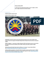 CHED More Info Needed on Reviving Mandatory ROTC