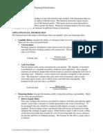 C3C Balance Sheet