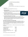 C17C Pension & Postretirement Benefits