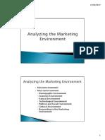Chapter 3 - Marketing Environment