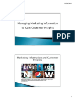 Chapter 4 - Marketing Information