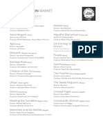 Nfdccpm 2015 Selected Projects