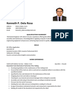Kenneth Dela Rosa Cv