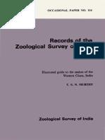 Snakes of India Zoologigal Survey of India