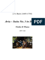 Air-Suite No. 3 - Partitura Completa