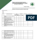 9.1.2.1 Evaluasi Perilaku Petugas Dalam Pelayanan Klinis