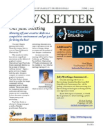 CT May June 2009 Newsletter