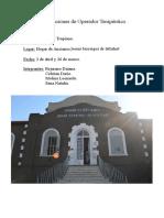 HOGAR DE ANCIANO DE CONCORDIA TRABAJO PRACTICO DE OPERADOR TERAPEUTICO