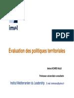 Evaluation Politiques Territoriales