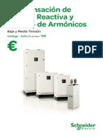 Catálogo-tarifa Compensación de Energía Reactiva y Filtraje Diciembre 08