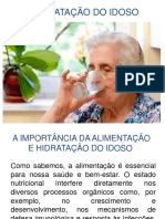 Hidratação Do Idoso (Andréia Faleiros)