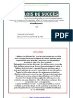 Les 16 Lois DU SUCCES - NAPOLEON HILL