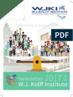 Kolff Newsletter 2017-01