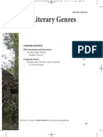 Chapter 10 Literary Genres