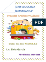 Proyecto Artistico y Cultural