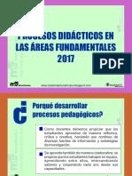 Procesos Didácticos en Las Áreas Fundamentales (1)
