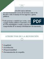 RENDICIÓN DE CUENTAS
