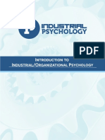 Introduction to IO Psychology